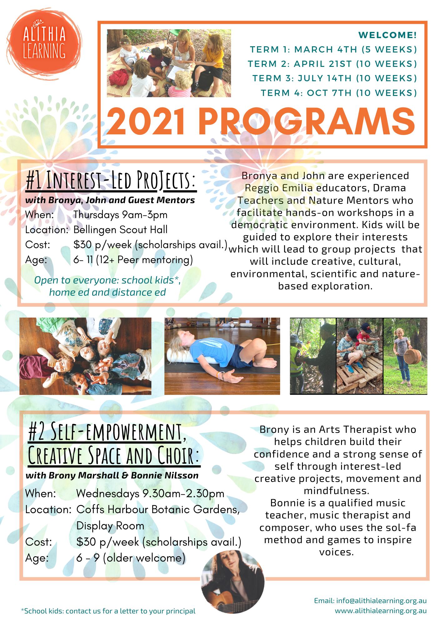 Alithia 2021 Programs final